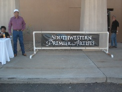 Southwestern Premier Artists sponsored the show